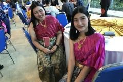 Ladies from Mahidol University, Thailand wearing beautiful costume!