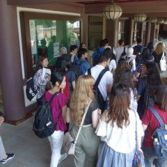 Hakata City Walking Tour: at Shoten temple in Hakata area