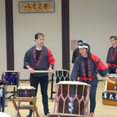 Performance by KU students 'Wadaiko Kakyo'. How cool!!